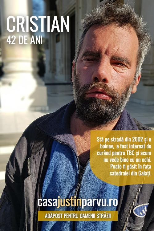 Cristian-42-ani-persoana-fara-adapost-Galati