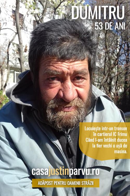 Dumitru-53-ani-persoana-fara-adapost-Galati