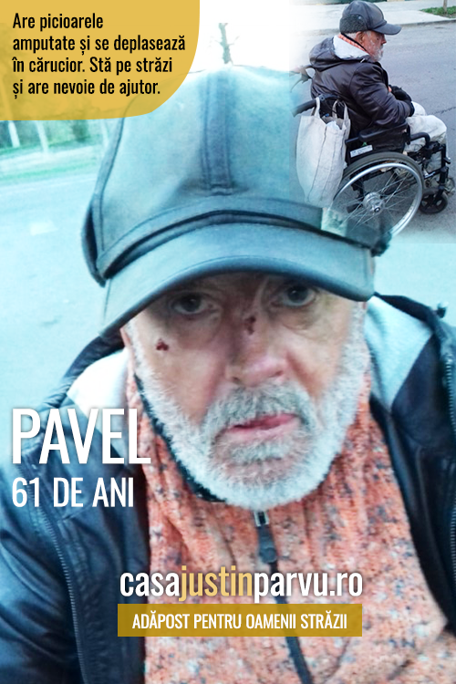 Pavel-61-ani-persoana-fara-adapost-Galati